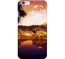 Night Forest and River 3 iPhone Case/Skin