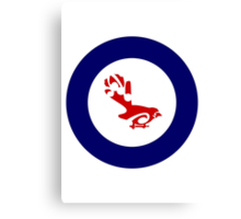Fantail Air Force Roundel Canvas Print