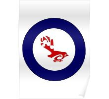 Fantail Air Force Roundel Poster