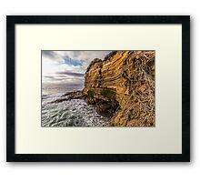 Sunset Cliffs Summer Framed Print