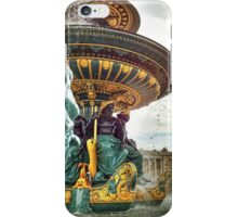 Fontaines de la Concorde, Paris iPhone Case/Skin