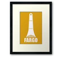 Fargo Ice Scraper Framed Print