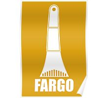 Fargo Ice Scraper Poster