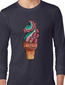 Swirly Tentacle Treat (gumdrop) Long Sleeve T-Shirt