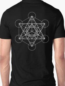 Metatron's Cube + Star of David | Sacred Geometry T-Shirt