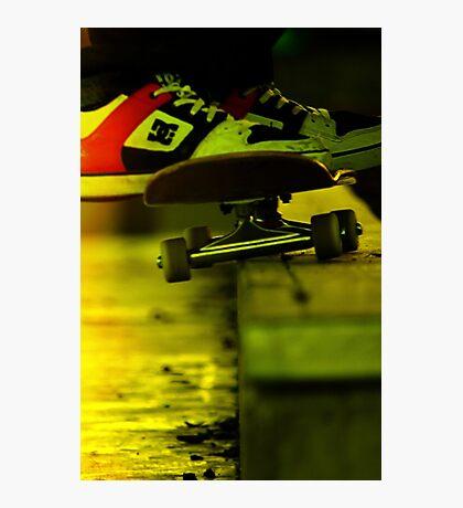Skateboard --  50-50 Photographic Print