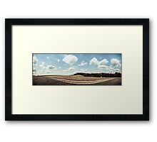 I Took the Road Less Traveled Framed Print