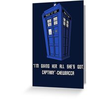 Doctor Who Misquote Greeting Card