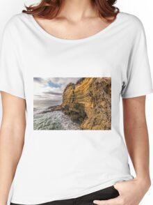 Sunset Cliffs Summer Women's Relaxed Fit T-Shirt