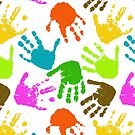 Painted Hands by SpiceTree