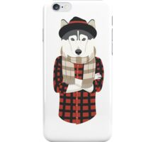 Hipster Husky iPhone Case/Skin