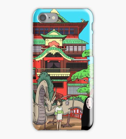 Spirited Away Drawing iPhone Case/Skin