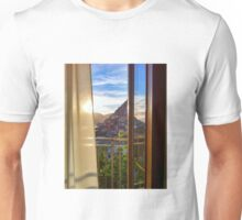 Looking out the window, Vernazza  Unisex T-Shirt