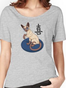 Siamese Chinese Cat Women's Relaxed Fit T-Shirt