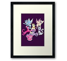 My Little Kitty: Cats Are Magic Framed Print