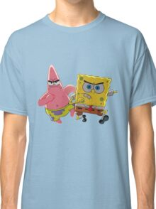 patrick and spongebob Classic T-Shirt