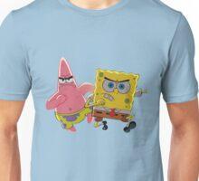 patrick and spongebob Unisex T-Shirt