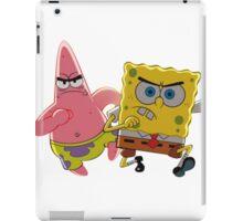 patrick and spongebob iPad Case/Skin