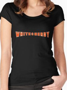 White and Nerdy! Women's Fitted Scoop T-Shirt
