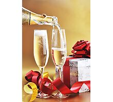 Champagne Photographic Print