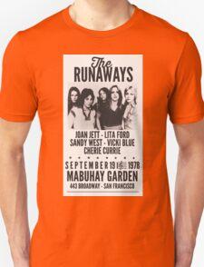 The Runaways Vintage Poster Unisex T-Shirt