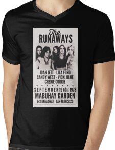 The Runaways Vintage Poster Mens V-Neck T-Shirt