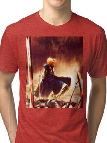 SABER Tri-blend T-Shirt