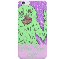 Slime fish pool party iPhone Case/Skin