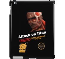Attack On Titan - NES iPad Case/Skin