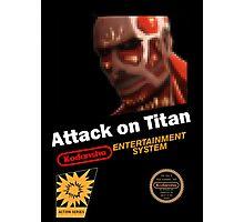 Attack On Titan - NES Photographic Print