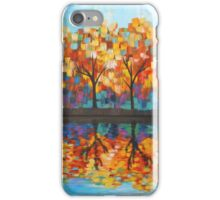 Autumn Leaves Reflection  iPhone Case/Skin