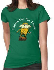 lorax environment  Womens Fitted T-Shirt