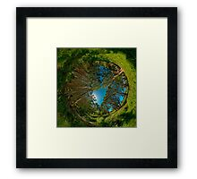 Stereographic view from Lachlan Swamp Framed Print