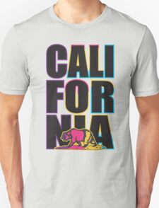 California in Multi Colour Unisex T-Shirt