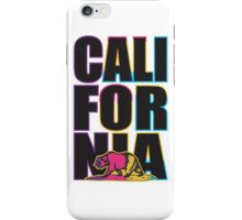 California in Multi Colour iPhone Case/Skin