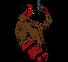 Hellboy Profile by Thalia Bristow