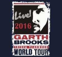 GARTH BROOKS LIVE 2016 Kids Tee