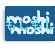 moshi moshi Canvas Print