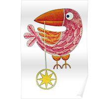 Bird Navigator (Transparent BG) Poster