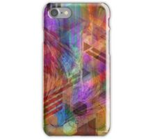 Magnetic Abstraction - By John Robert Beck iPhone Case/Skin