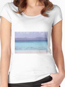 Blue Beach Women's Fitted Scoop T-Shirt