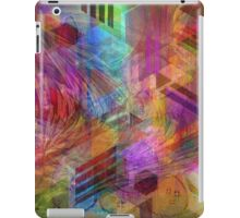 Magnetic Abstraction (Square Version) - By John Robert Beck iPad Case/Skin