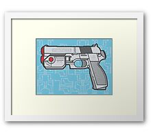 PS1 Namco GameCon Controller - Revive Framed Print