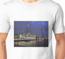 The Shard At Night; Mad Version Unisex T-Shirt