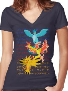 Legends Women's Fitted V-Neck T-Shirt