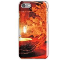 silent candle..silent night... iPhone Case/Skin