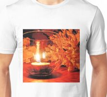 silent candle..silent night... Unisex T-Shirt