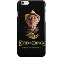 Lord of the Dings iPhone Case/Skin