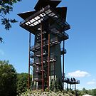 VIEWING TOWER in OUR BIRDPARK by Marilyn Grimble