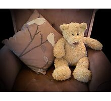 Comfy Ted Photographic Print